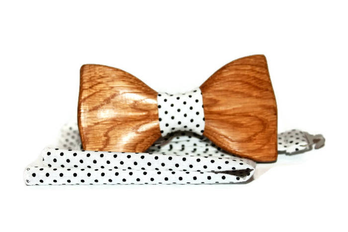 Vintage Men And Women Bow Tie Real Handmade Wooden Bowtie Vintage Fashion Wood tie