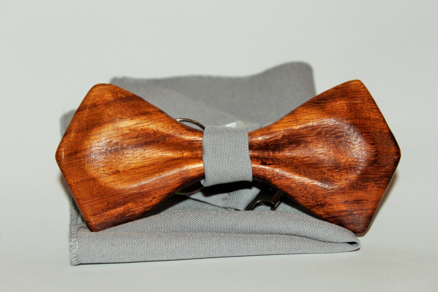 Wood bow tie with unique design. Wooden bow tie best gift for men, husband and friend.