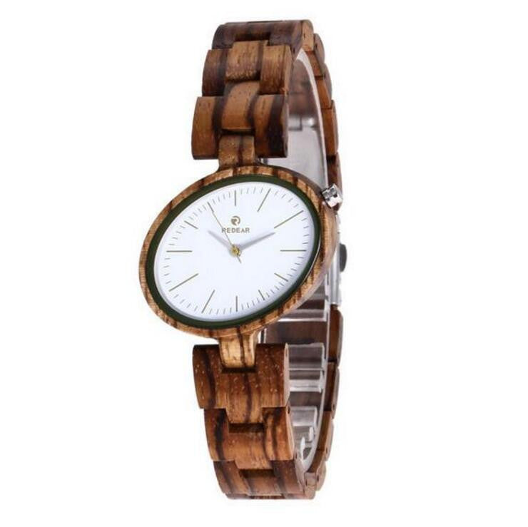 Handmade watches made of wood