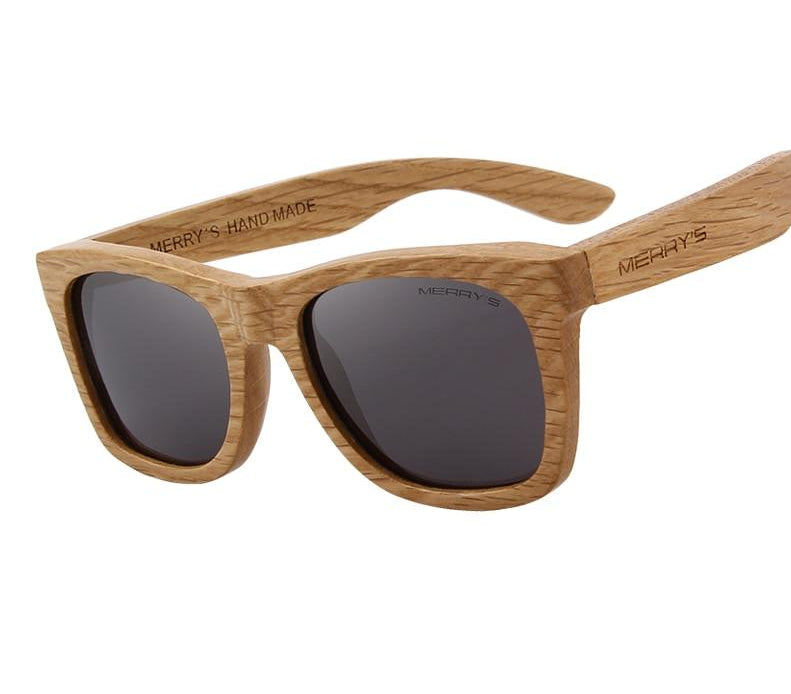 Men Women Unisex Wooden Sunglasses Retro Polarized Sun Glasses HAND MADE 100% UV Protection S5140