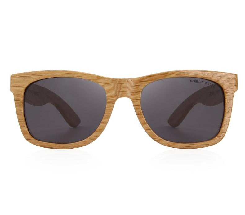 Mens wooden sunglasses UV Protection S5140
