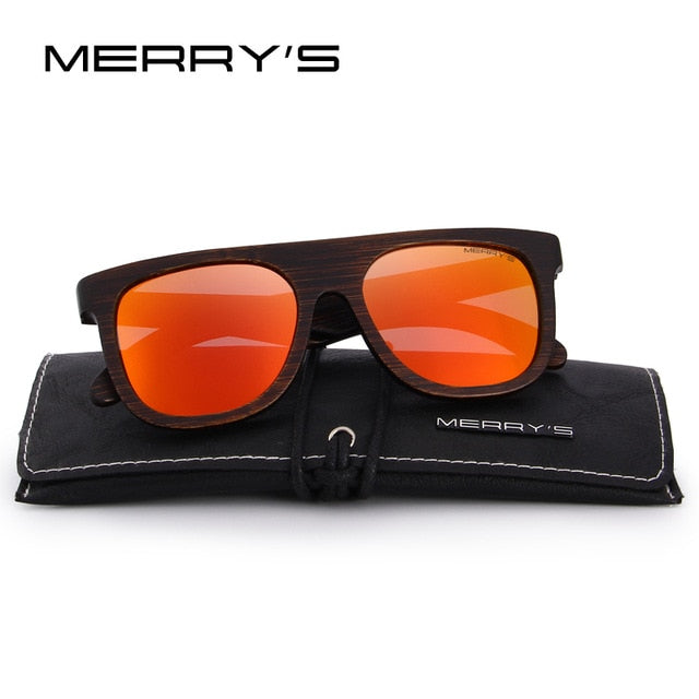 Men Wooden Polarized Sunglasses hand made 100% UV Protection
