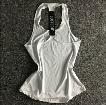 Women Yoga Top Gym Sports Vest Sleeveless Shirts Tank Tops Sport Top Fitness Women Running Clothes Singlets - yogaafford