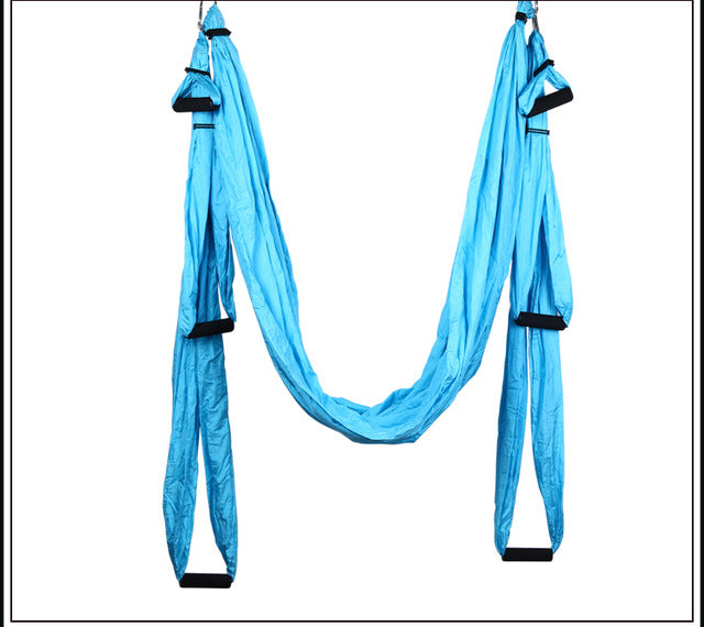 Aerial Yoga Swing Yoga Flying Hammock Antigravity Yoga Hammock full set 1*hammock+2*Expansion screw+2*lengthening+6*Handle - yogaafford