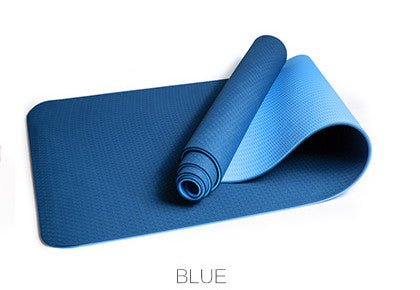 Two Color Yoga Mat - yogaafford