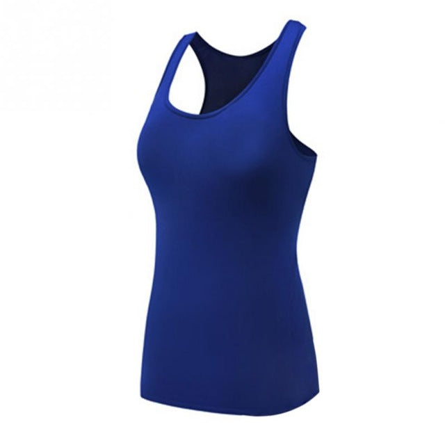 Women's Sleeveless Fitness Tank Top - yogaafford