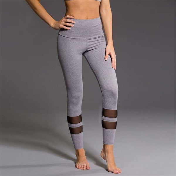 Sexy Mesh Women's Leggings - yogaafford