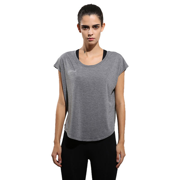 Women's Short-Sleeve Yoga T-shirt - yogaafford