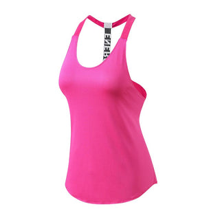 Yuerlian New Better Quality Fitness Tight Sports Yoga Shirt Quickly Dry Sleeveless Running Vest Workout Crop Top Female T-shirt - yogaafford
