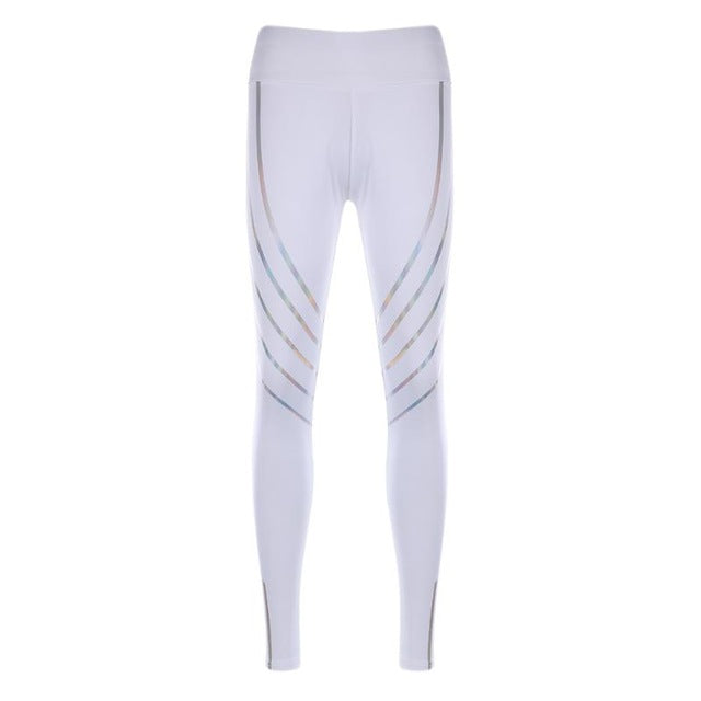 Women's Reflective Yoga Pants - yogaafford
