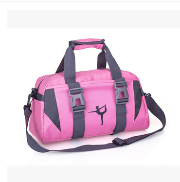 New Sports Training Fitness Bag Women Men Sport Outdoors Bag Gym Luggage Sack Female Shoulder Yoga Pack Shoes Bag - yogaafford