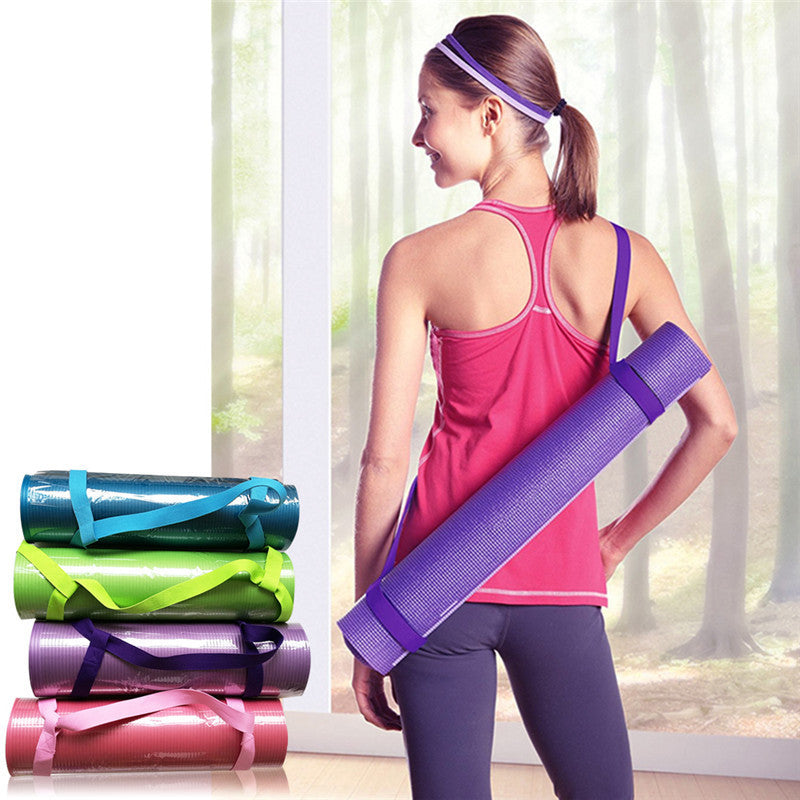 Adjustable Yoga Mat Strap - yogaafford