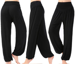 Women's Relaxed Yoga Pants - yogaafford