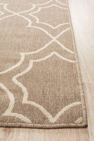 Alfresco Indoor Outdoor Collection 6510 Natural Rug