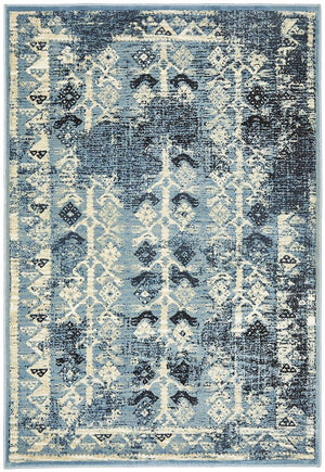 Calypso Collection 6108 Blue Rug