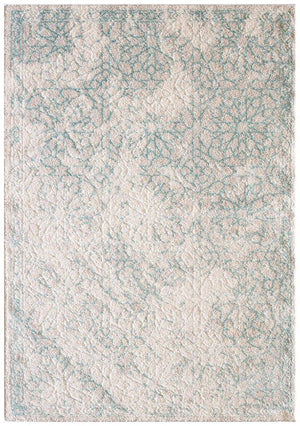Capri Kasey Star Dust Modern Rug Natural Soft Blue