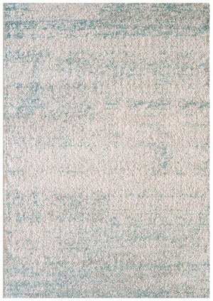 Capri Cloe Natural Soft Blue Modern Rug