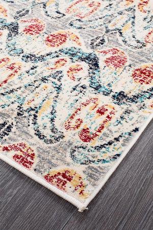 Cascade Moonlight Aglow Multi Runner Rug