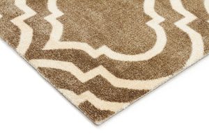 City Modern Trelliss Design Rug Ash