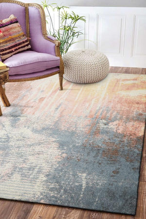 City Dreamy Ocean Modern Multi Rug