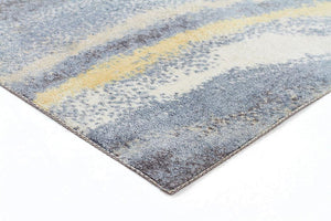 City Repeat Modern Blue Rug
