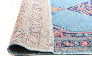 Eternal Whisper Diamond Blue Rug