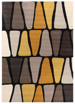 Gold Collection 623 Brown & Gold Rug