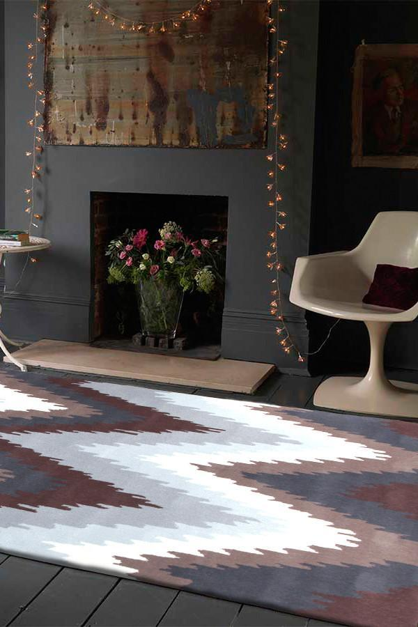 Gold Collection 630 Brown Rug