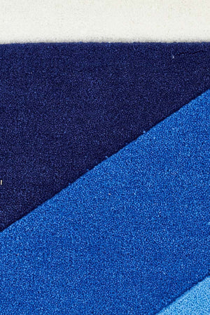 Gold Collection 636 Blue Rug