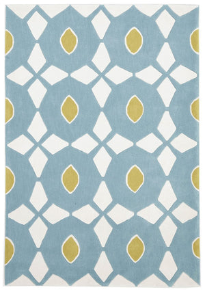 Gold Collection 643 Blue Rug