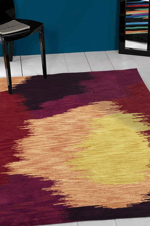 Gold Collection 648 Crimson Rug
