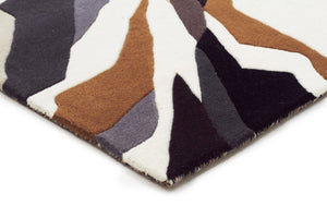Matrix Pure Wool Fossil Runner Rug