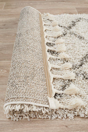 Saffron 11 Natural Runner Rug