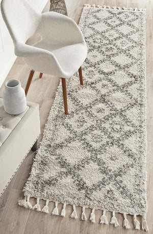 Saffron 33 Natural Runner Rug