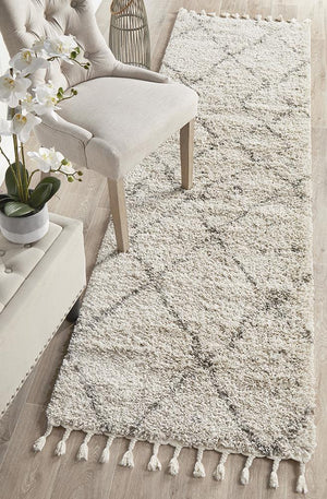 Saffron 44 Natural Runner Rug