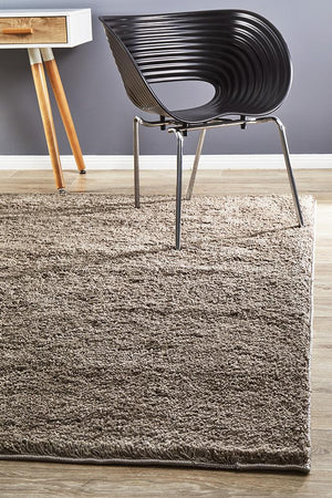 Soho Awesome Shag Rug Beige