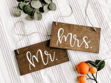 Mr. & Mrs. Chair Hangers