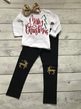 Load image into Gallery viewer, My First Christmas Outfit- 3pc set