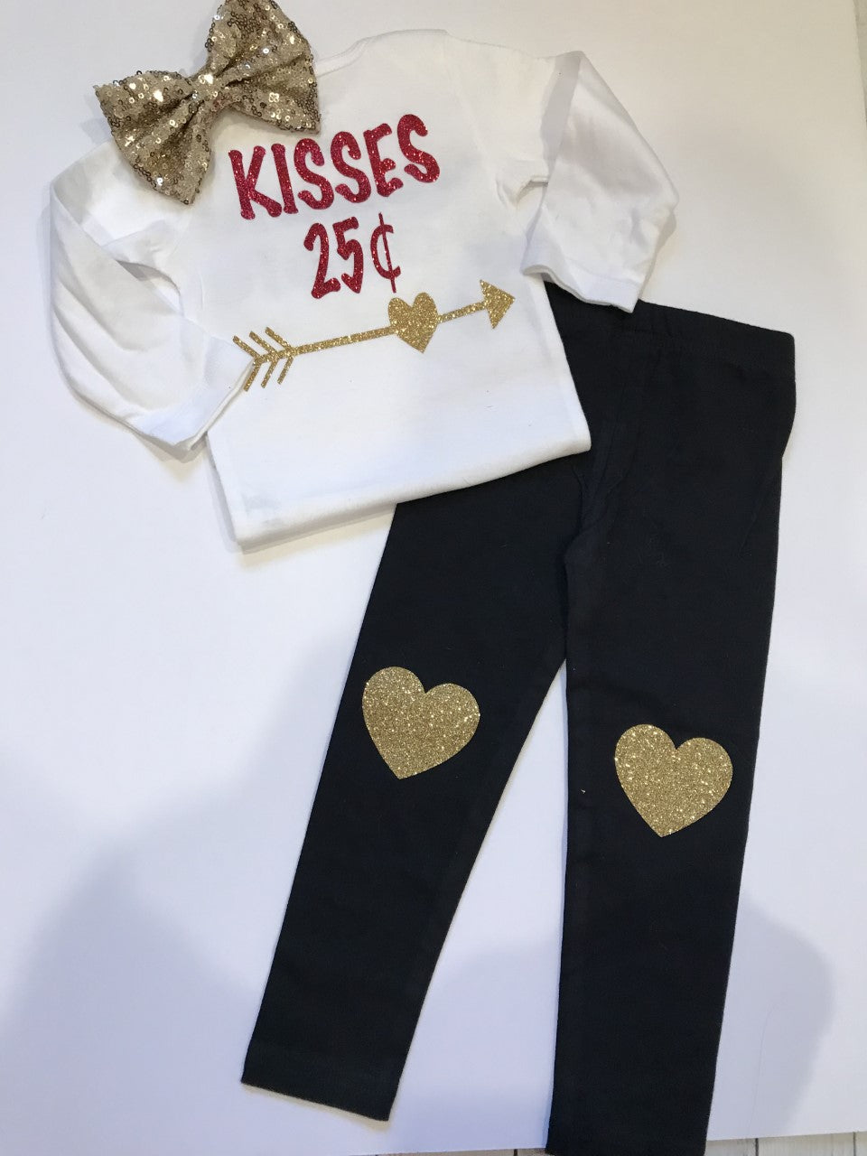 Valentines Day Outfit- Complete 3 piece Set