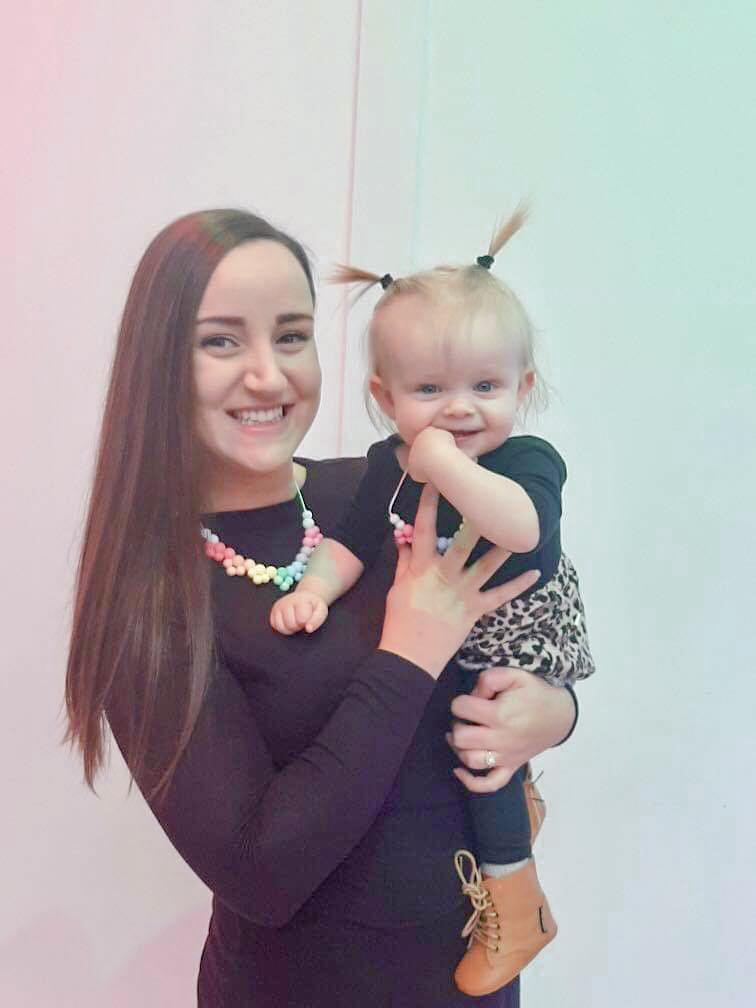 zadorables-2.myshopify.com Mommy & Me Necklace Set in