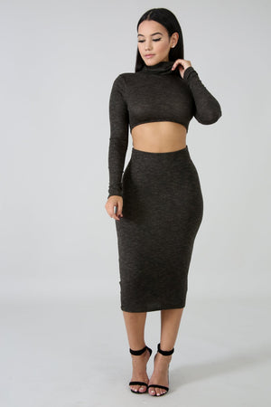 Don't Forget Me Midi Dress