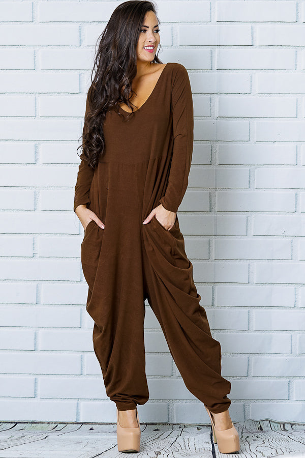 Long sleeve Harlem jumpsuit