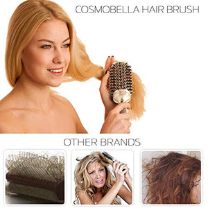 "Cosmobella Thermal Ceramic & Ionic Hair Brush (2.9"")"