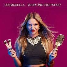 "Load image into Gallery viewer, Cosmobella Thermal Ceramic & Ionic Hair Brush (2.1"")"