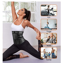 Load image into Gallery viewer, Sweat Waist Trainer Corset With Belt Waist Cincher Shaper
