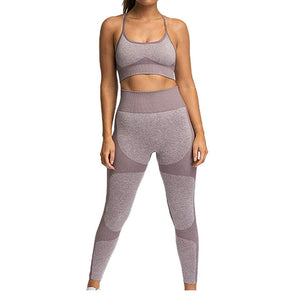 8- Seamless Body Fit Yoga 2 pc-Set