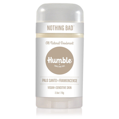 HUMBLE DEODORANT - Sensitive Palo Santo & Frankincense