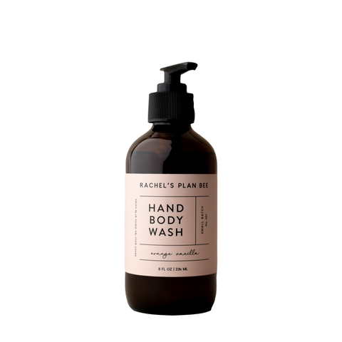 RACHEL'S PLAN BEE - Hand Body Wash - Orange Vanilla