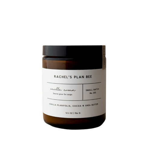 RACHEL'S PLAN BEE - Body butter - Vanilla Cream