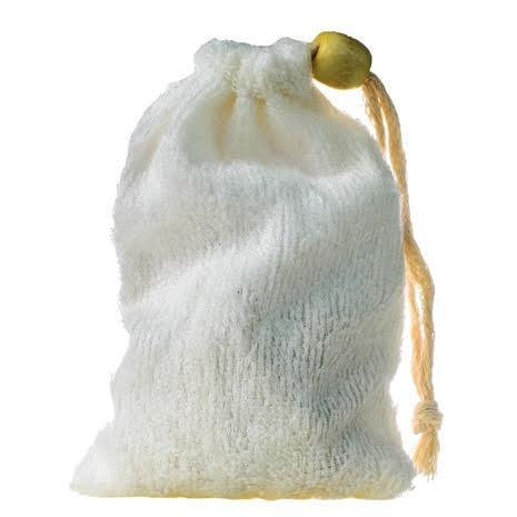 LIVING LIBATIONS - Soap Saver Bamboo Bag